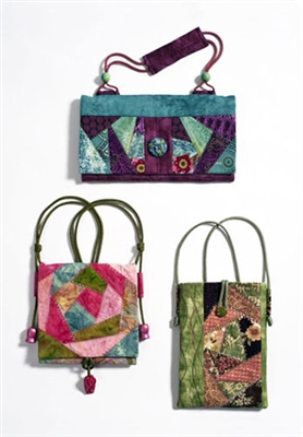 Flat Bag Pattern by Square Rose