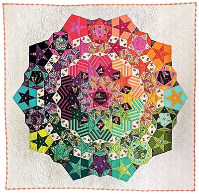 Tula Nova Quilt Pattern & Paper Pieces Set
