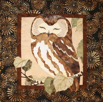 Owl Fusible Applique Quilt Pattern : owl quilts patterns - Adamdwight.com