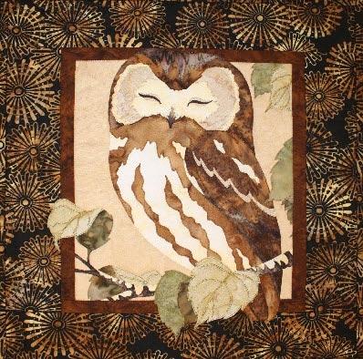 Owl Fusible Applique Quilt Pattern : owl applique quilt pattern - Adamdwight.com