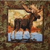 Moose Fusible Applique Quilt Pattern