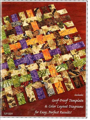 Open Weave Table Runner & Place Mat Quilt Pattern