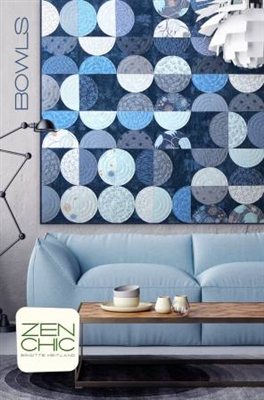 Bowls Quilt Pattern by Zen Chic
