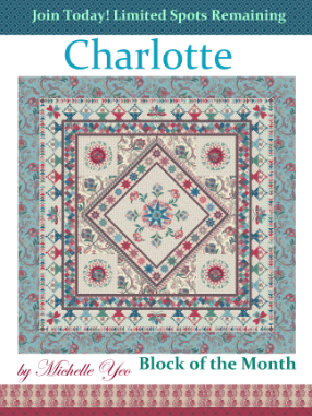 Charlotte Block of the Month Quilt