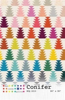Conifer Quilt Pattern from Eye Candy Quilts