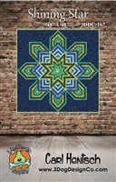 Shining Star Quilt Pattern by Carl Hentsch