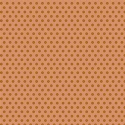 Secret Stash Warm Dot Dot Dot in Orange by Edyta Sitar 8624-O