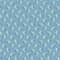 Perfect Union A-9586-B Sprig in Shadow blue by Edyta Sitar