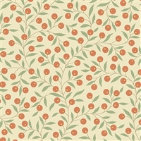 The Seamstress: Thimble in  Berries Peach by Edyta Sitar A-9771-O