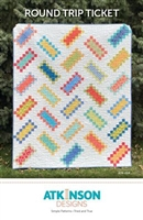 Round Trip Ticket Quilt Pattern by Atkinson Design