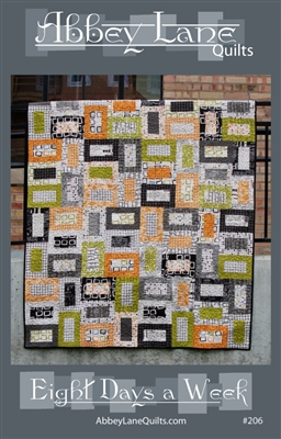 Eight Days A Week Quilt Pattern by Abbey Lane Designs