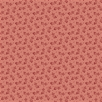 Anne's English Scrapbox Ziggy Leaf Crimson double pink
