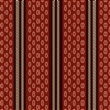 Chesapeake Oval Stripe by Di Ford-Hall Red