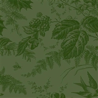 Evergreen from Toile in Evergreen
