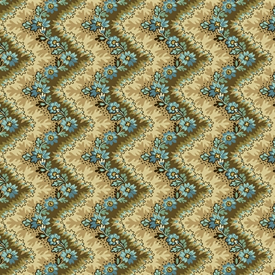 Rochester Zig Zag by Di Ford-Hall Teal