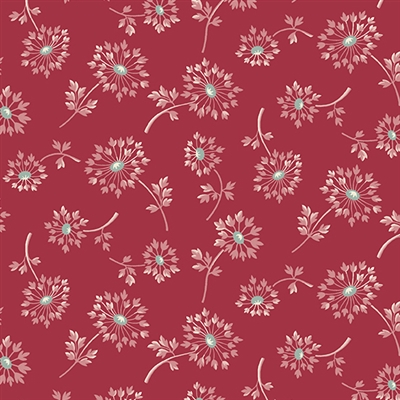 Super Bloom Dandelion in Ruby (red)