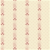 Rose Fern Stripe on Cream Andover 9285-E from Watts River by Max and Louise