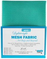 Mesh Lite Weight Turquoise 18in x 54in from Annie's