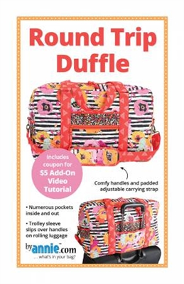 Round Trip Duffle Pattern from By Annie