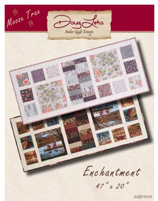 Enchantment Table Runner Quilt Pattern by Doug Leko