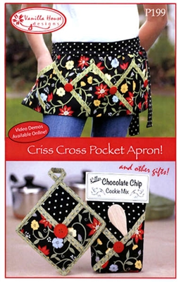 Criss Cross Pocket Apron Pattern