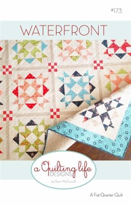 WATERFRONT Quilt Pattern by A Quilting Life