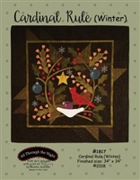 Cardinal Rule Quilt Pattern by Bonnie Sullivan