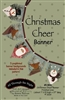 Christmas Cheer Banner Pattern by Bonnie Sullivan