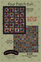 Four Patch Fun Quilt Pattern by Bonnie Sullivan