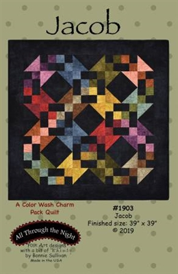 Jacob Quilt Pattern by Bonnie Sullivan