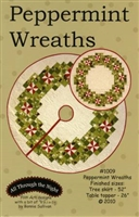 Peppermint Wreath by Bonnie Sullivan