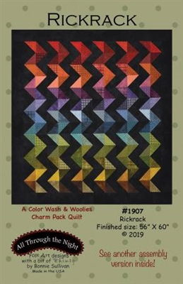 Rick Rack Quilt Pattern by Bonnie Sullivan