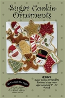 Sugar Cookie Ornaments Pattern by Bonnie Sullivan
