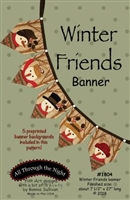 Winter Friends Banner Pattern by Bonnie Sullivan