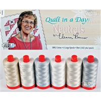 The Ultimate Neutral Thread Collection by Eleanor Burns - Aurifil Threads
