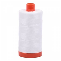 Aurifil Thread: Mako Cotton Thread Natural White