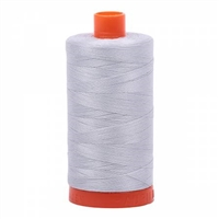 Aurifil Thread: Mako Cotton Thread Dove Grey