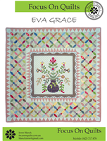 Eva Grace Applique Quilt Pattern by Irene Blanck