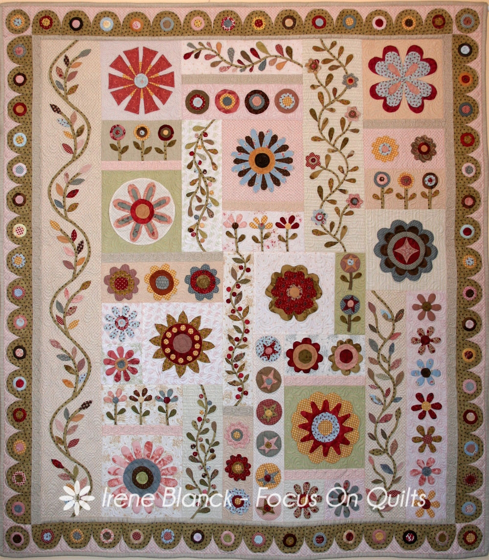 Blooming Springtime Quilt Pattern From Australian Designer