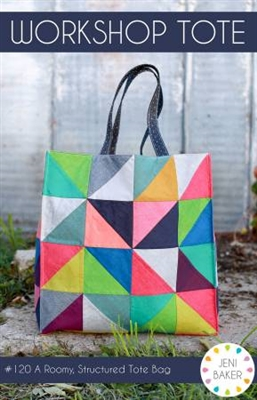 Workshop Tote Bag Pattern