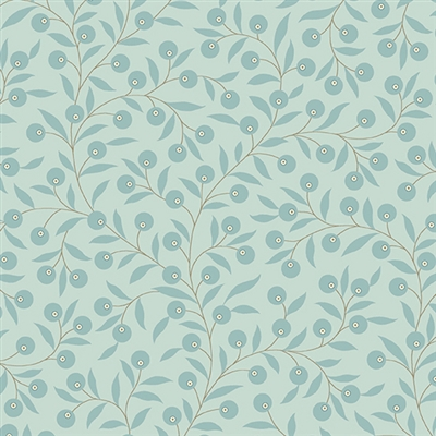 Bluebird: Thimble in Pale Frost Blue by Laundry Basket Quilt