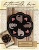 Folkart Penny Mats Thru the Year February Cats