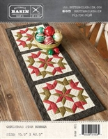 Christmas Star Runner Pattern from Buttermilk Basin