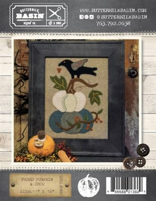 Faded Pumpkin & Crow Quilt Pattern