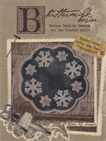 Penny Mats Through The Year - February Snowflakes