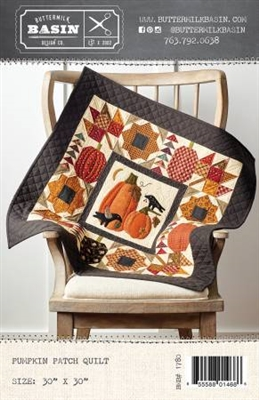 Pumpkin Patch Quilt Pattern from Buttermilk Basin