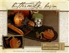 Scalloped Pumpkin Runner Wool Applique Pattern