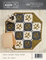 Simply Baskets Table Topper Pattern from Buttermilk Basin