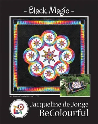 Black Magic Quilt Pattern by BeColourful