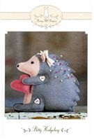 Bitty Hedgehog Pin Cushion Pattern by Bunny Hill Designs